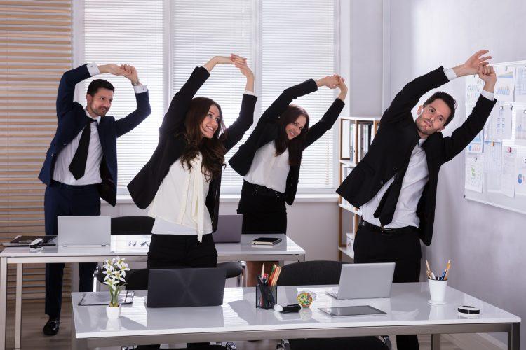 Vežbe na poslu