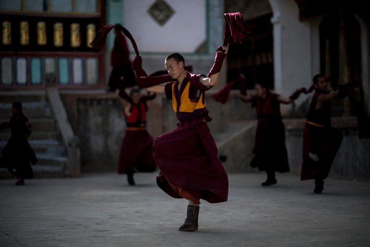 Tibetanski monasi