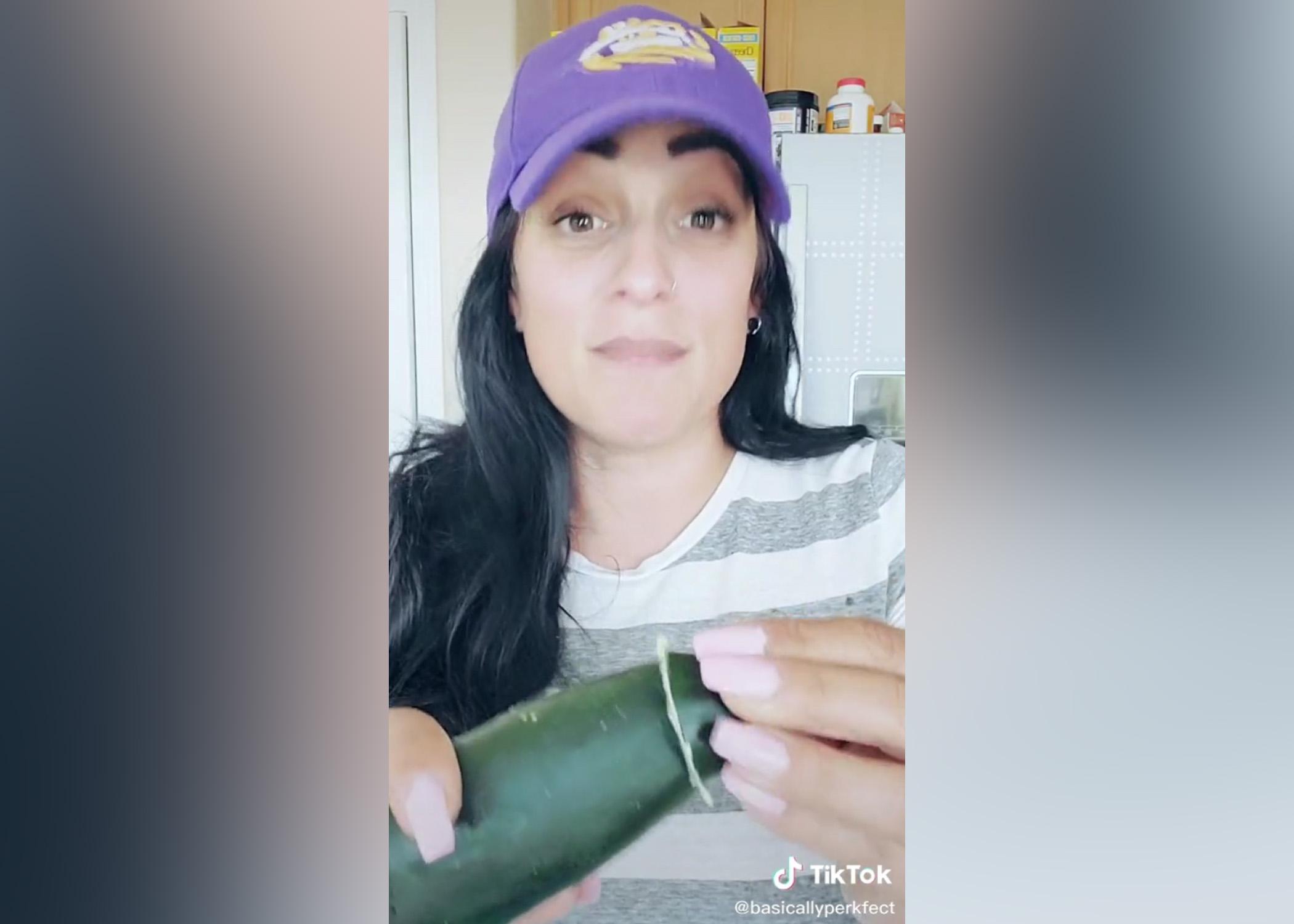 trljati krastavac protiv gorčine