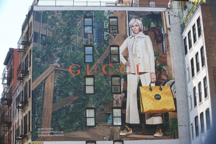 Gucci bilbord