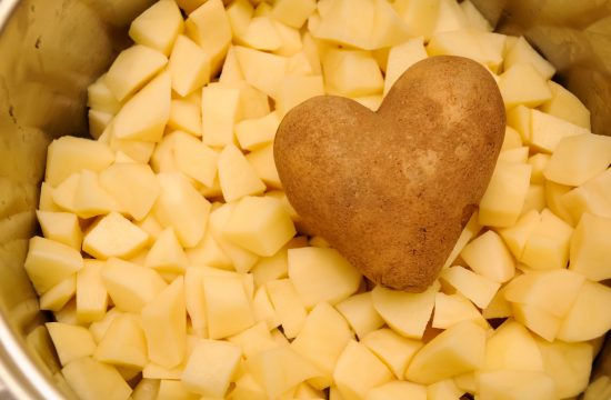 Oljušteni krompir