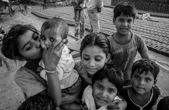 Deca u Indiji