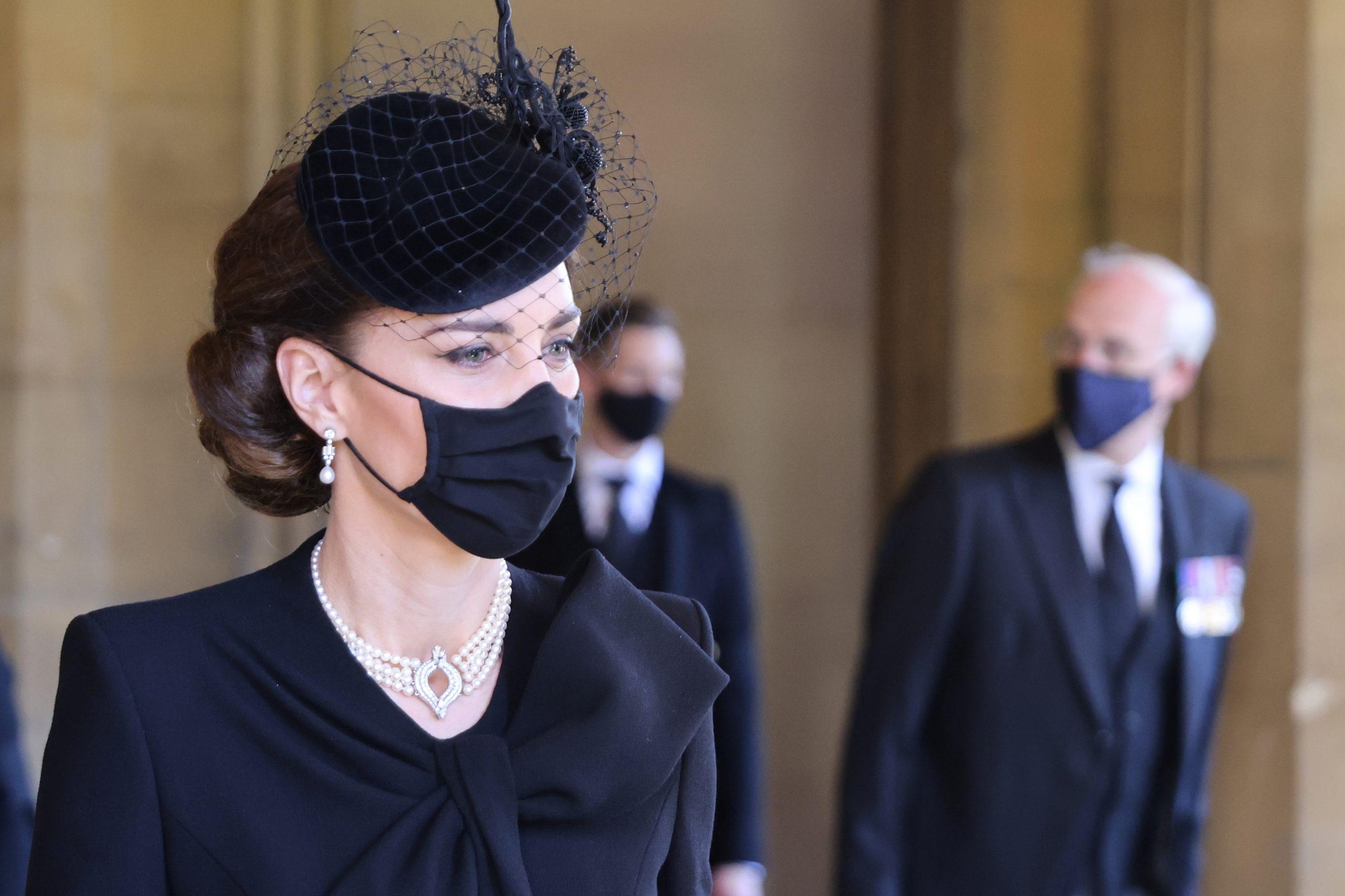 Kejt Midlton, sahrana, princ Filip