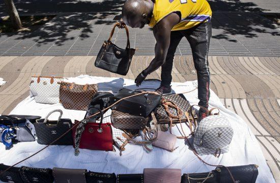 ulični prodavci barselona