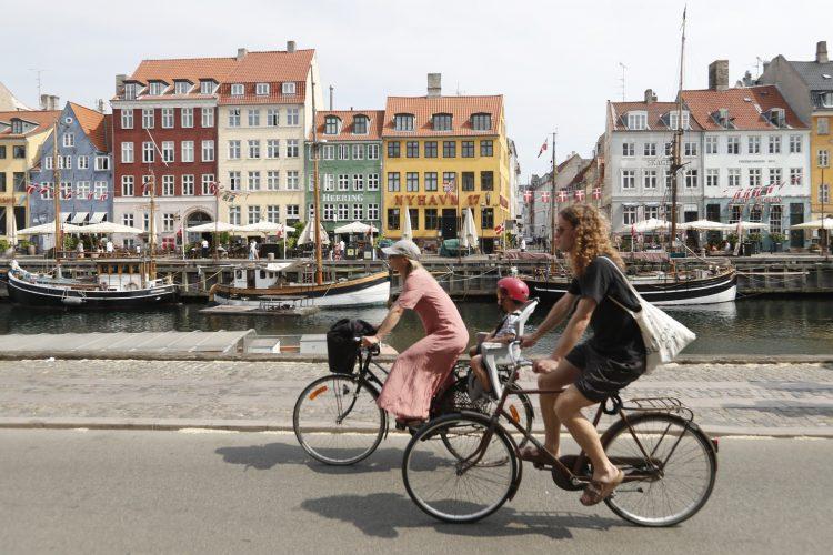 bicikl noge danska