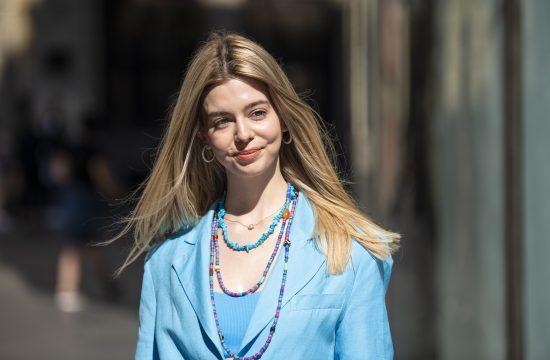 Beograd 19.08.2021. Ulična moda, Street style, Strit stajl, devojke, Knez Mihailova ulica