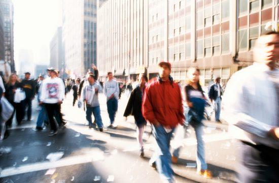 ljudi grad šetnja