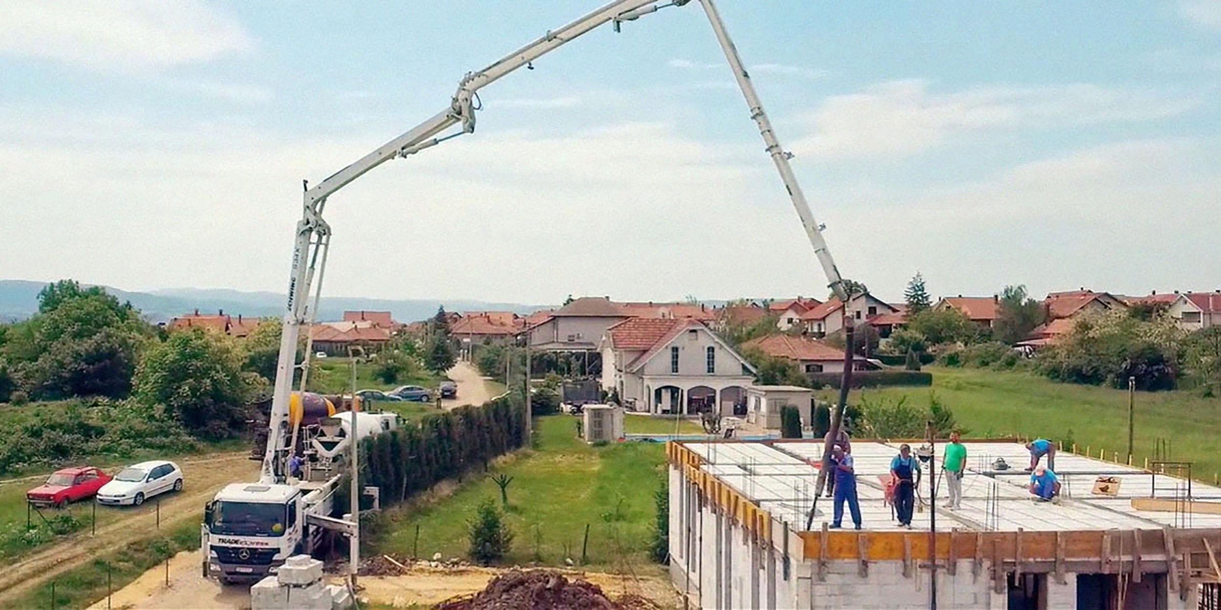 kuća solarna elektrana arterski bunar