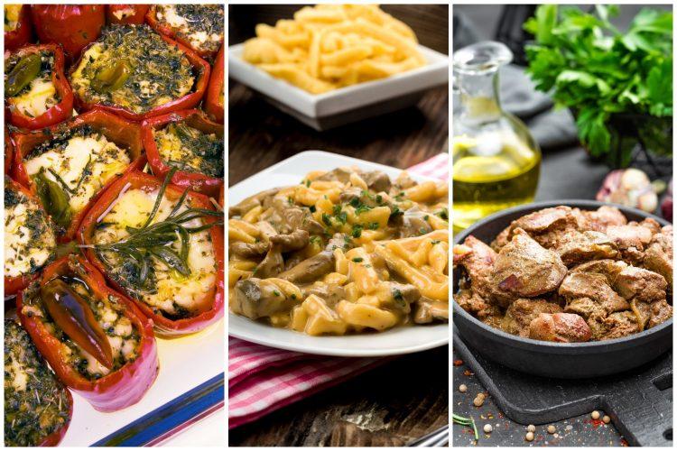 Hrana, jelo, tri jela