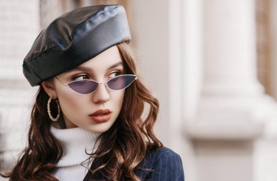 Žena, devojka, naočare za sunce, kapa