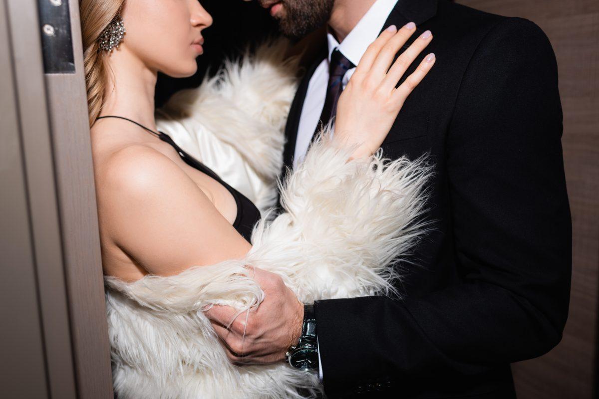 Par, žena, deojka, muškarac, zagrljaj